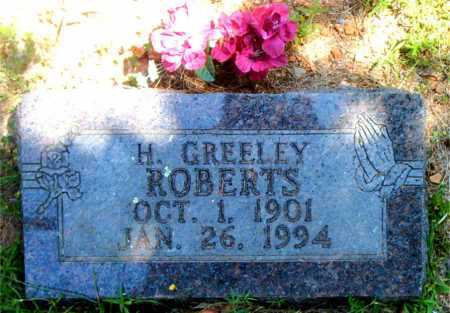 ROBERTS, H.  GREELEY - Boone County, Arkansas | H.  GREELEY ROBERTS - Arkansas Gravestone Photos