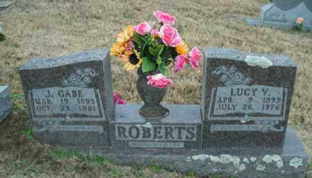 ROBERTS, LUCY V. - Boone County, Arkansas | LUCY V. ROBERTS - Arkansas Gravestone Photos