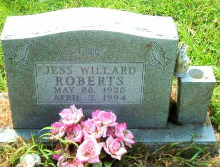 ROBERTS, JESS WILLARD - Boone County, Arkansas | JESS WILLARD ROBERTS - Arkansas Gravestone Photos