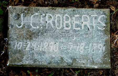 ROBERTS, J.  C. - Boone County, Arkansas | J.  C. ROBERTS - Arkansas Gravestone Photos