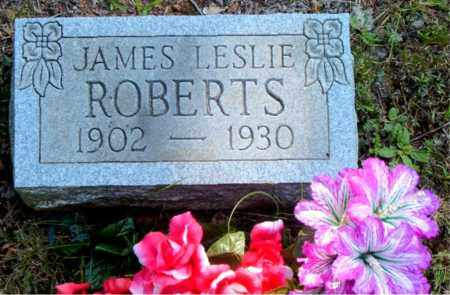 ROBERTS, JAMES  LESLIE - Boone County, Arkansas | JAMES  LESLIE ROBERTS - Arkansas Gravestone Photos