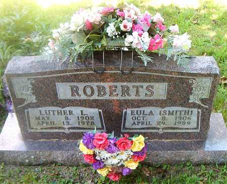 SMITH ROBERTS, EULA - Boone County, Arkansas | EULA SMITH ROBERTS - Arkansas Gravestone Photos