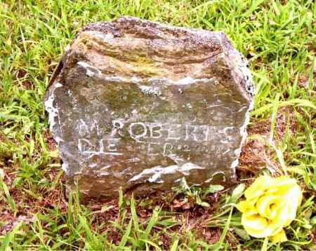ROBERTS, M. - Boone County, Arkansas | M. ROBERTS - Arkansas Gravestone Photos