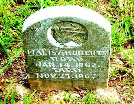 ROBERTS, MALIS - Boone County, Arkansas | MALIS ROBERTS - Arkansas Gravestone Photos