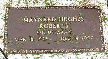 ROBERTS  (VETERAN), MAYNARD HUGHES - Boone County, Arkansas | MAYNARD HUGHES ROBERTS  (VETERAN) - Arkansas Gravestone Photos