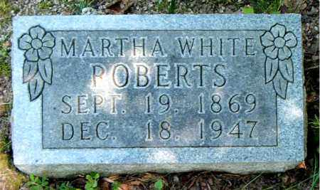 ROBERTS, MARTHA - Boone County, Arkansas | MARTHA ROBERTS - Arkansas Gravestone Photos