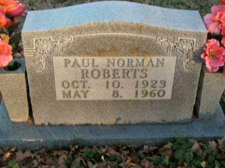 ROBERTS, PAUL NORMAN - Boone County, Arkansas | PAUL NORMAN ROBERTS - Arkansas Gravestone Photos