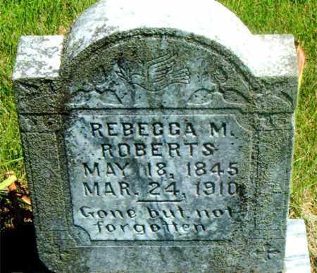 ROBERTS, REBECCA M. - Boone County, Arkansas | REBECCA M. ROBERTS - Arkansas Gravestone Photos