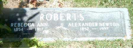ROBERTS, REBECCA ANN - Boone County, Arkansas | REBECCA ANN ROBERTS - Arkansas Gravestone Photos