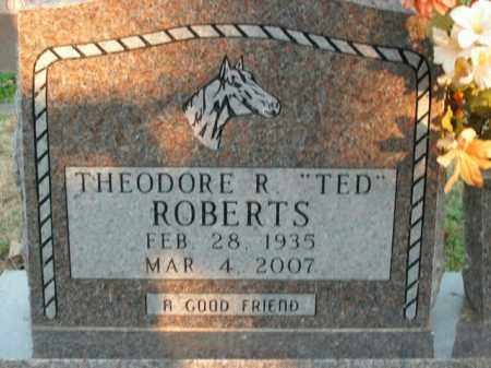 ROBERTS, THEODORE R. - Boone County, Arkansas | THEODORE R. ROBERTS - Arkansas Gravestone Photos