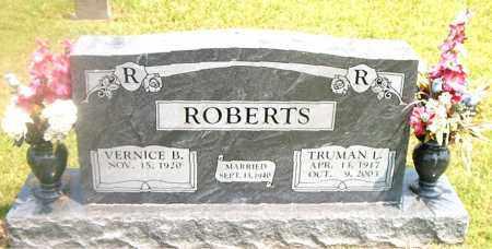 ROBERTS, TRUMAN  LLOYD - Boone County, Arkansas | TRUMAN  LLOYD ROBERTS - Arkansas Gravestone Photos