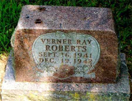 ROBERTS, VERNER RAY - Boone County, Arkansas | VERNER RAY ROBERTS - Arkansas Gravestone Photos