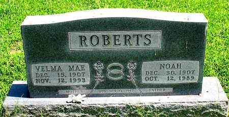 ROBERTS, NOAH - Boone County, Arkansas | NOAH ROBERTS - Arkansas Gravestone Photos