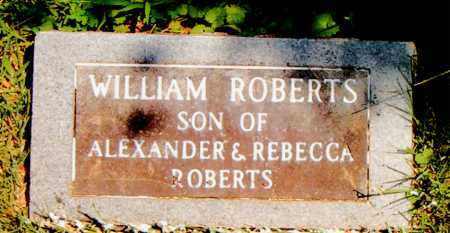 ROBERTS, WILLIAM - Boone County, Arkansas | WILLIAM ROBERTS - Arkansas Gravestone Photos