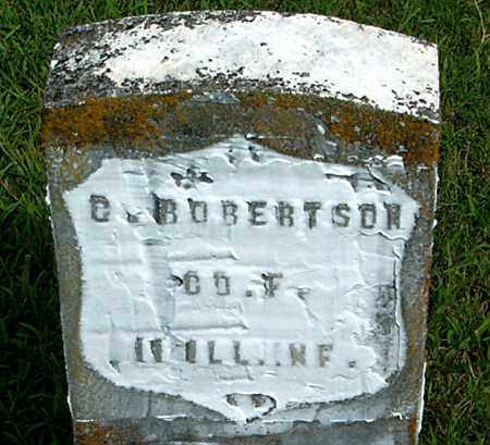 ROBERTSON  (VETERAN UNION), C - Boone County, Arkansas | C ROBERTSON  (VETERAN UNION) - Arkansas Gravestone Photos