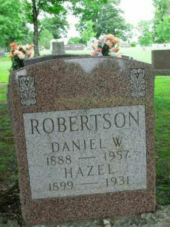 ROBERTSON, DANIEL W. - Boone County, Arkansas | DANIEL W. ROBERTSON - Arkansas Gravestone Photos