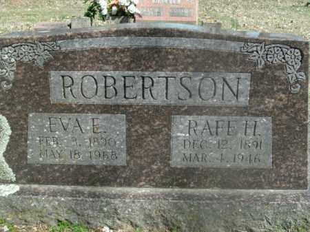 ROBERTSON, EVA E. - Boone County, Arkansas | EVA E. ROBERTSON - Arkansas Gravestone Photos
