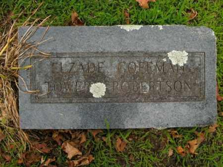 COFFMAN ROBERTSON, ELZADE - Boone County, Arkansas | ELZADE COFFMAN ROBERTSON - Arkansas Gravestone Photos