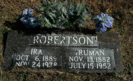 ROBERTSON, TRUMAN - Boone County, Arkansas | TRUMAN ROBERTSON - Arkansas Gravestone Photos