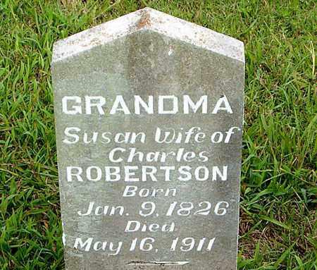 ROBERTSON, SUSAN - Boone County, Arkansas | SUSAN ROBERTSON - Arkansas Gravestone Photos