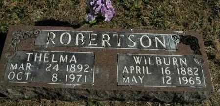 ROBERTSON, WILBURN - Boone County, Arkansas | WILBURN ROBERTSON - Arkansas Gravestone Photos