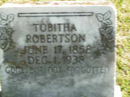 ROBERTSON, TOBITHA - Boone County, Arkansas | TOBITHA ROBERTSON - Arkansas Gravestone Photos