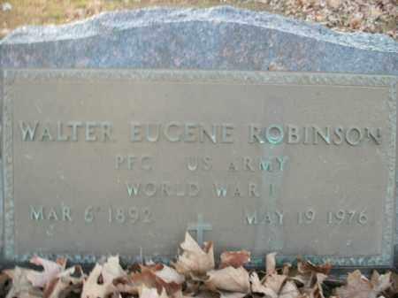 ROBINSON  (VETERAN WWI), WALTER EUGENE - Boone County, Arkansas | WALTER EUGENE ROBINSON  (VETERAN WWI) - Arkansas Gravestone Photos