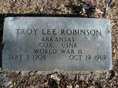 ROBINSON  (VETERAN WWII), TROY LEE - Boone County, Arkansas | TROY LEE ROBINSON  (VETERAN WWII) - Arkansas Gravestone Photos