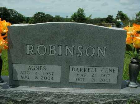 ROBINSON, AGNES - Boone County, Arkansas | AGNES ROBINSON - Arkansas Gravestone Photos