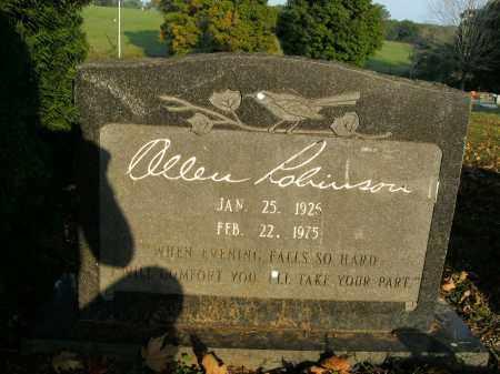 ROBINSON, ALLEN - Boone County, Arkansas | ALLEN ROBINSON - Arkansas Gravestone Photos