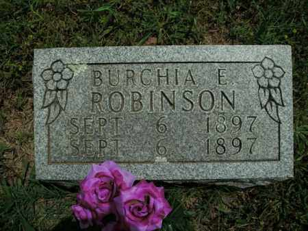 ROBINSON, BURCHIA E. - Boone County, Arkansas | BURCHIA E. ROBINSON - Arkansas Gravestone Photos