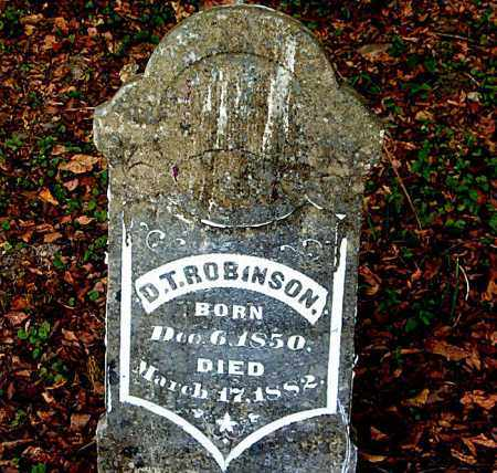 ROBINSON, DAVID T. - Boone County, Arkansas | DAVID T. ROBINSON - Arkansas Gravestone Photos