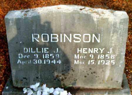 ROBINSON, DILLIE  J. - Boone County, Arkansas | DILLIE  J. ROBINSON - Arkansas Gravestone Photos