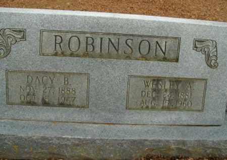 ROBINSON, DACY B. - Boone County, Arkansas | DACY B. ROBINSON - Arkansas Gravestone Photos