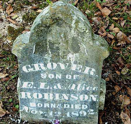 ROBINSON, GROVER - Boone County, Arkansas | GROVER ROBINSON - Arkansas Gravestone Photos
