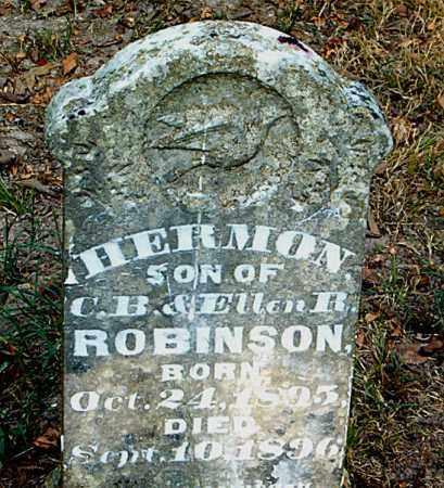ROBINSON, HERMON - Boone County, Arkansas | HERMON ROBINSON - Arkansas Gravestone Photos