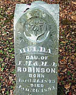 ROBINSON, HULDA - Boone County, Arkansas | HULDA ROBINSON - Arkansas Gravestone Photos