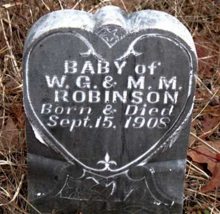 ROBINSON, INFANT - Boone County, Arkansas | INFANT ROBINSON - Arkansas Gravestone Photos