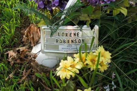 ROBINSON, LORENE - Boone County, Arkansas | LORENE ROBINSON - Arkansas Gravestone Photos