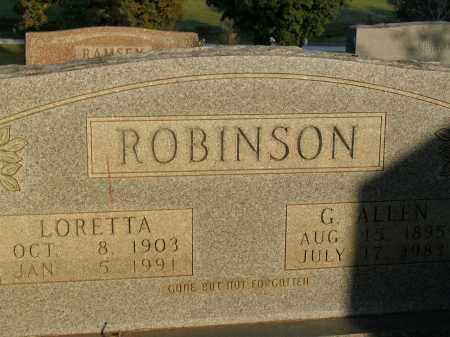 ROBINSON, LORETTA MARIE - Boone County, Arkansas | LORETTA MARIE ROBINSON - Arkansas Gravestone Photos