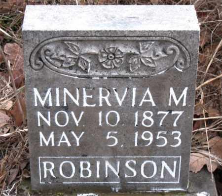 ROBINSON, MINERVIA M. - Boone County, Arkansas | MINERVIA M. ROBINSON - Arkansas Gravestone Photos