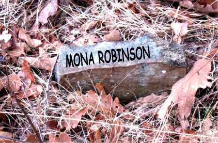 ROBINSON, MONA - Boone County, Arkansas | MONA ROBINSON - Arkansas Gravestone Photos