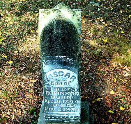 ROBINSON, OSCAR - Boone County, Arkansas | OSCAR ROBINSON - Arkansas Gravestone Photos