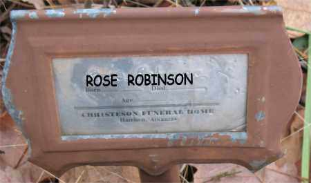 ROBINSON, ROSE - Boone County, Arkansas | ROSE ROBINSON - Arkansas Gravestone Photos