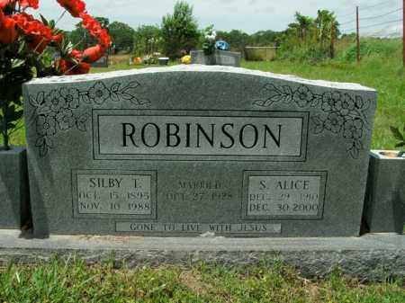 ROBINSON, SARAH ALICE - Boone County, Arkansas | SARAH ALICE ROBINSON - Arkansas Gravestone Photos