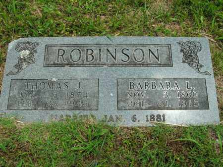 ROBINSON, BARBARA LELIA - Boone County, Arkansas | BARBARA LELIA ROBINSON - Arkansas Gravestone Photos