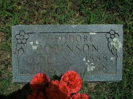 ROBINSON, THEODORE - Boone County, Arkansas | THEODORE ROBINSON - Arkansas Gravestone Photos
