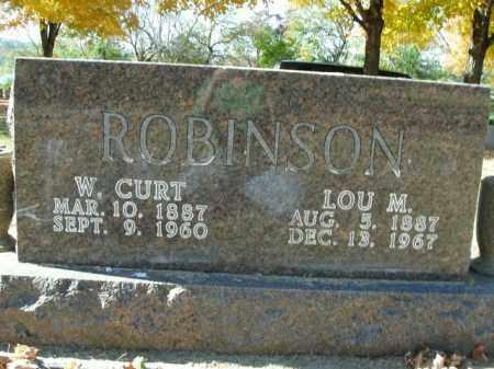 ROBINSON, W.CURT - Boone County, Arkansas | W.CURT ROBINSON - Arkansas Gravestone Photos