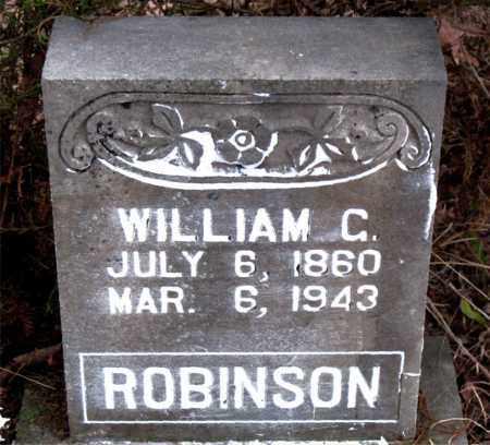 ROBINSON, WILLIAM C. - Boone County, Arkansas | WILLIAM C. ROBINSON - Arkansas Gravestone Photos