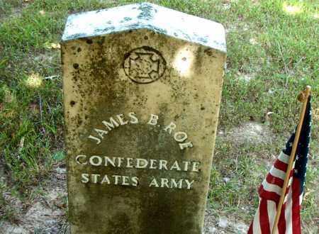 ROE  (VETERAN CSA), JAMES  B - Boone County, Arkansas | JAMES  B ROE  (VETERAN CSA) - Arkansas Gravestone Photos